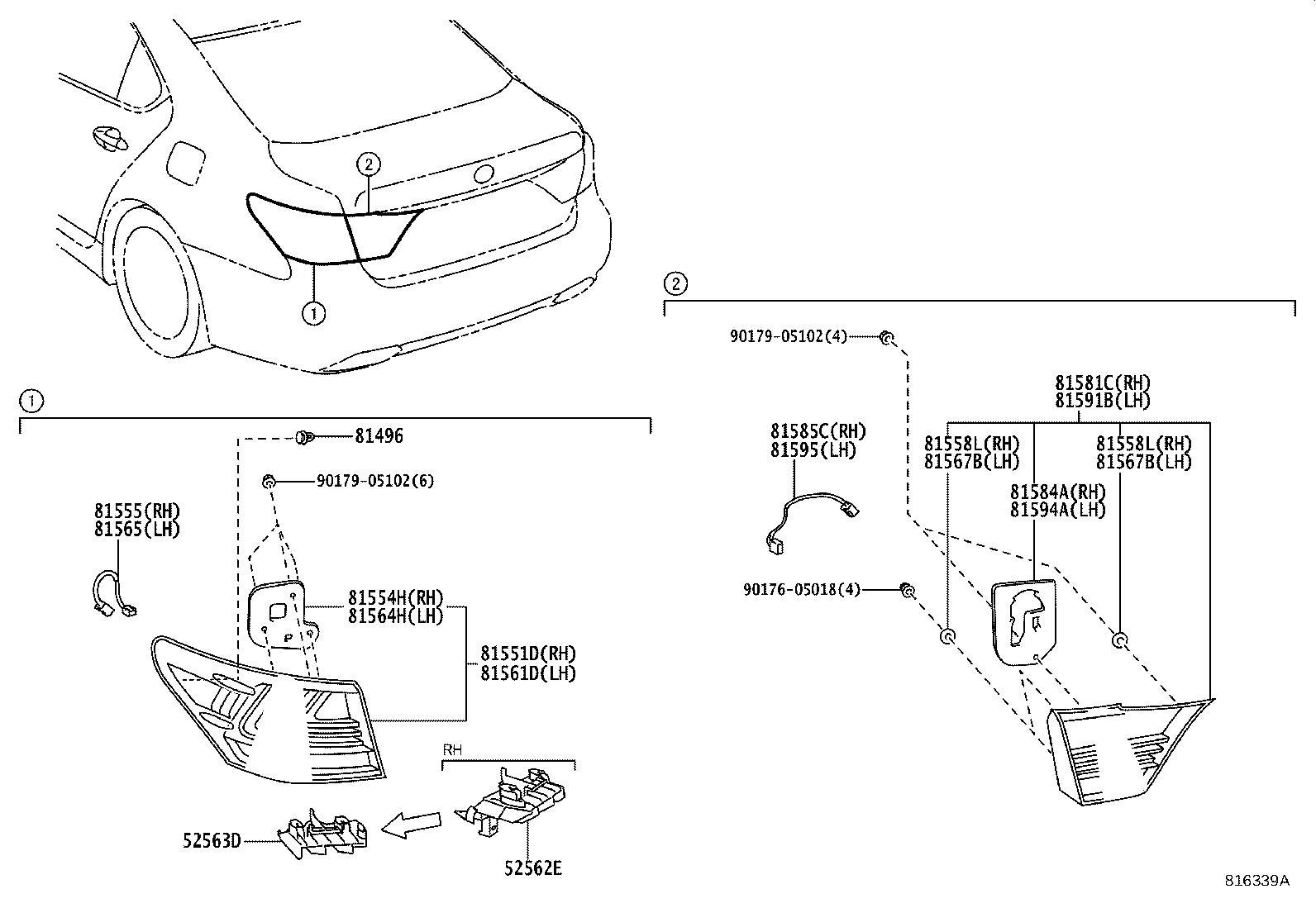 Lexus Ls 460 Socket  U0026 Wire Sub