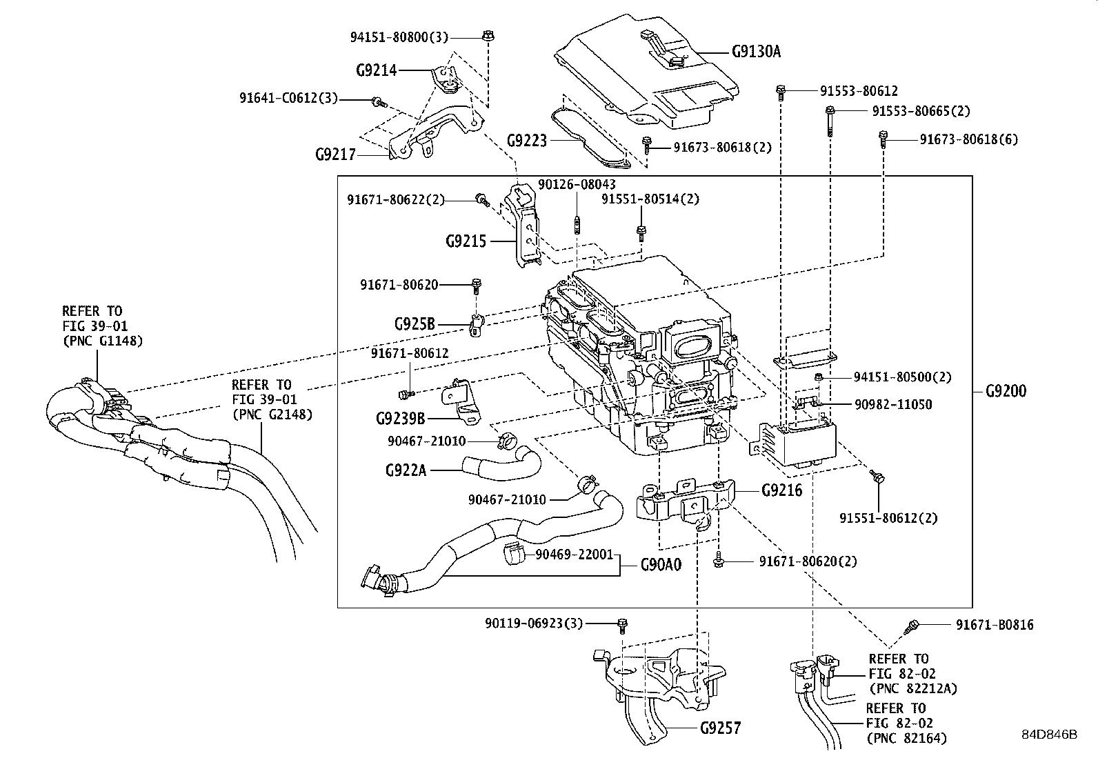 Lexus Ls 600h L Bracket  Inverter  No  1  Electrical