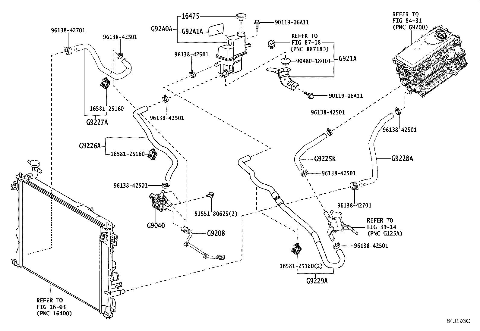 Lexus Es 300h Wire Sub