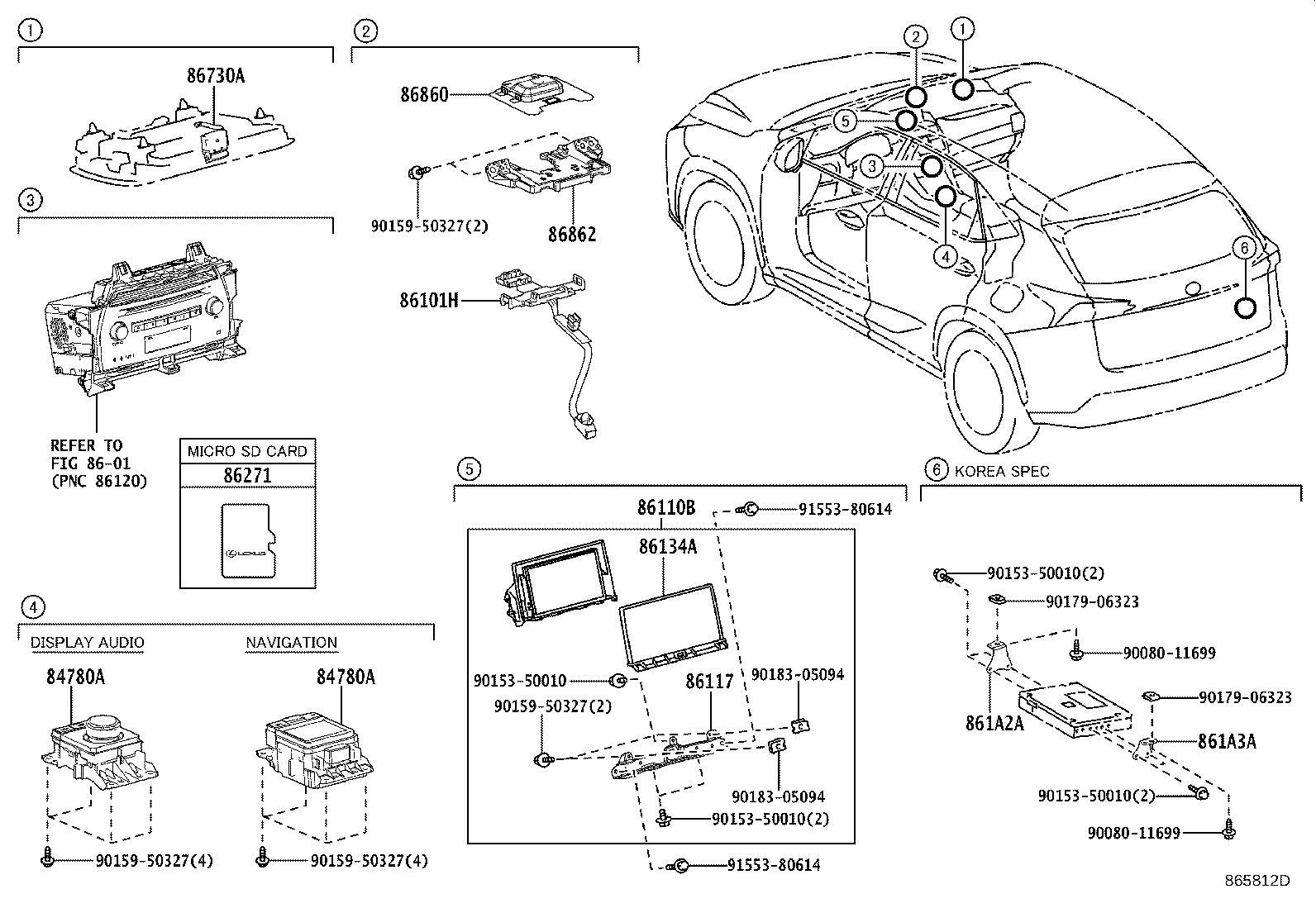 Lexus Nx 300h Cord Sub