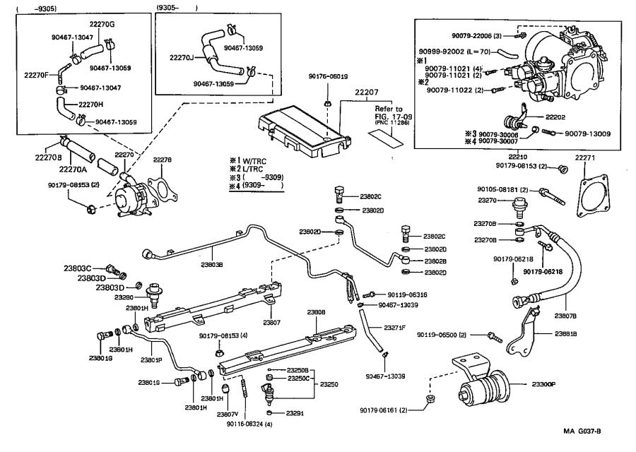 Lexus Ls 400 Injector Assembly  Fuel  System