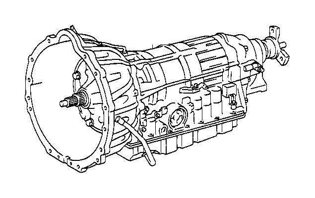 lexus ls 400 reman  transmission