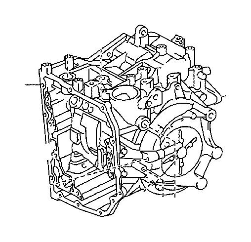 Lexus RX 350 Case Sub-assembly, Automatic Transaxle