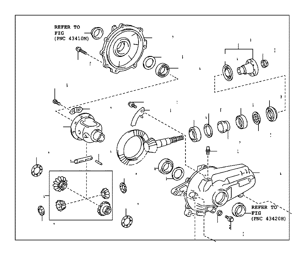 Lexus GS 350 Plug (for Front Differential Drain
