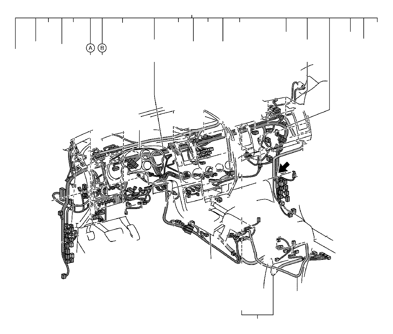 Lexus Rx 350 Connector  Wiring Harness  Engine  Seat  Door