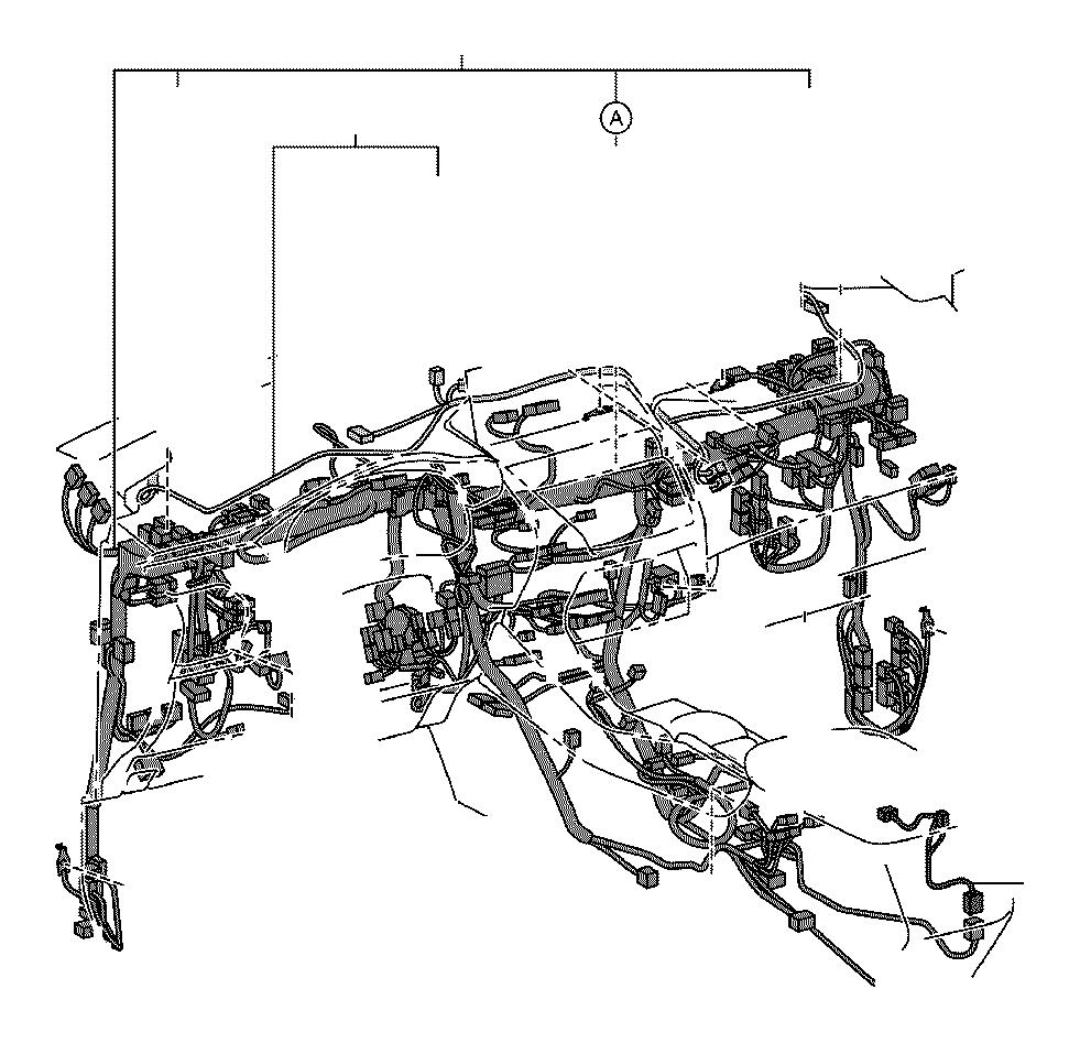 Lexus Nx 300h Wire  Instrument Panel  No  2  Engine  Clamp
